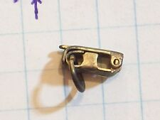 CLIP FOR CHAIN BRASS COLOR & LOOP ANTIQUE VINTAGE