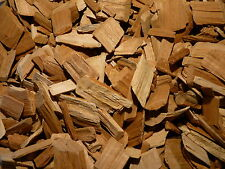 BBQ SMOKING WOOD CHIPS - Premium Cherry Woodchips 1/2kg Bag  - FREE DELIVERY
