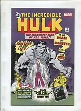 The Incredible Hulk #1 ~ Walmart Promo Very Hard To Find ~ (Grade 5.5)WH