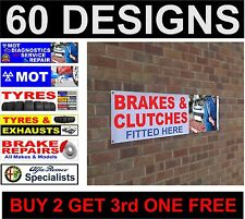 ALFA ROMEO BMW CADILLAC specialista specialisti BANNER SIGN WORKSHOP GARAGE