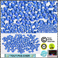 200 Strass Cristal 3D Perles Décorations Ongles Nail Art Manucure Facette 1mm BL
