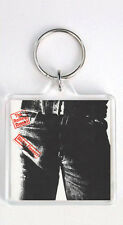 ROLLING STONES - STICKY FINGERS LP COVER KEYRING LLAVERO