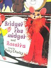 "Bridget the Midget & Rossetta sung by Pinky & Perky 1971 No.61 7"" Single 45"