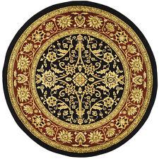 Safavieh Lyndhurst Traditional Oriental Black/ Red Rug (5'3 Round)