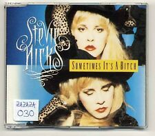 Stevie Nicks Maxi-CD Sometimes It's A Bitch - Dutch 3-track