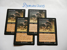 4x MTG Twisted Abomination-Abominio Folle Magic EDH SCG Scourge Flagello ITA-ING