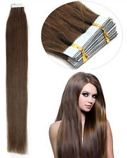 """Premium Seamless Weft Tape in 100% Real Remy Human Hair Extensions 16""""18""""20""""22"""""""