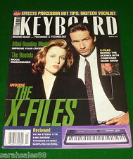1996 X-FILES Music, Digitech Studio Vocalist, FATAR 1176 Tests Keyboard Magazine