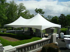 Commercial Extra Heavy Duty High Peak Frame Party Event Tent 20x40' George Maser