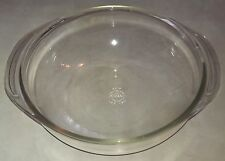Pyrex 024 0-25 Clear Glass Large Mixing Serving Bowl w/ Handles~2 Quart Cooking