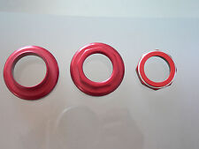 Cambio Rino headset alu red parts not complete 1970s VGC bianchi legnano vintage