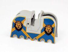 LEGO Pferdesattel Satteldecke Horse Barding 2490px4 blau 6091 6098 6095 - F129