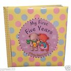 My First Five Years Baby Record Diary Book Ideal Present Keepsake Gift FFY1