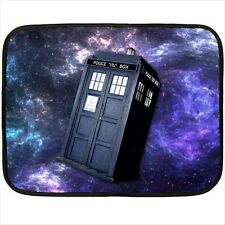 New Best Doctor who tardis galaxy for Mini Fleece Blanket Free Shipping