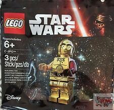 "C3PO #5002948 C-3PO RED ARM The Force Awakens STAR WARS 2"" Inch Bagged FIGURE"