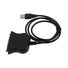 USB to 25 Pin DB25 Parallel Printer Cable Adapter Cord Converter New MC