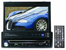 "Boss BV9972 7"" Single DIN In-Dash Monitor Car DVD/CD Player Receiver USB/SD/Aux"