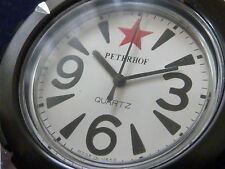 Montre vintage ussr Raketa Peterhof Diver watch quartz zero red star NOS