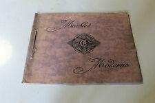 ancien catalogue  MEUBLE MODERNE  C R  Sièges et Meubles d'Art - art déco