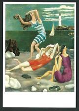 Pablo Picasso : Les Baigneuses - cartolina del 1985 - cm 10,5 x 15