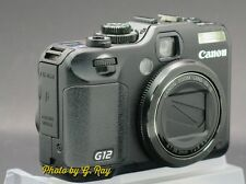 CANON PowerShot G12 RECONDITIONED DIGITAL CAMERA-SWIVEL LCD-EASY TO TAKE SELFIES