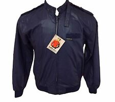 Members Only Vintage 80's NWT Iconic Racer Windbreaker Jacket Size 40 M