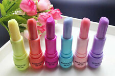 6 pcs Different Colors Romantic Bear Lip Balm Color Change