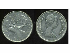 CANADA 25 cents  1985  ( bis )