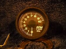 NOS SUN MACH 452 TACHOMETER- 0 to 10,000 RPM FOR C.D. IGNITIONS- CRAGAR-GRANT