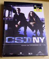 DVD Box CSI: NY Staffel Season 1 One Eins - Epsioden 13 - 23 DVDs 1.2 Neu OVP
