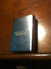 ZIPPO NAVY Military Lighter USS WASP LHD-1 Unused Lighter ESTATE FIND