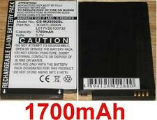 Battery 1700mAh type 303ATL0000A L017YS0100732 For I-mate Ultimate 9502