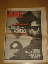 NME 1983 JUL 16 CABARET VOLTAIRE ECHO & THE BUNNYMEN