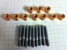 Peugeot 405 & 205 1.9 Mi16 Exhaust Manifold stud and Nut Kit