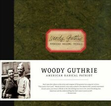 NEW American Radical Patriot by Woody Guthrie CD (CD) Free P&H