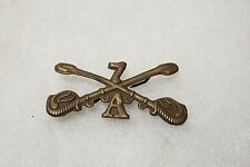 Lot of 2 Vintage Style Civil War Indian Wars 7th Cavalry Union Army pin New
