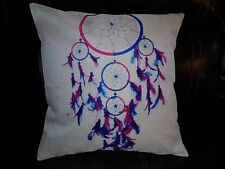 U.S. SELLER Dream Catcher Home Bed Decor Cushion Pillow Throw Cover Case Purple
