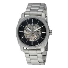 Fossil Machine Black Dial Stainless Steel Men's Watch ME3114 NEW