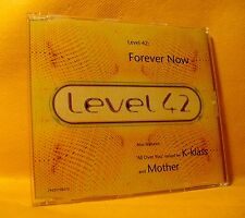 MAXI Single CD Level 42 Forever Now 4TR 1994 Pop Rock, Funk, House
