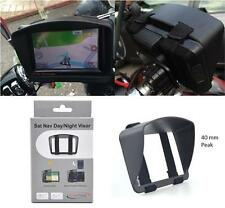 Sun Shade Visor For BMW Navigator 5 & 4 V IV Motorcycle Sat Nav GPS Anti Glare
