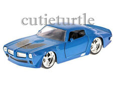 Jada Bigtime Muscle 1972 Pontiac Firebird 1:32 Diecast Toy Car Blue