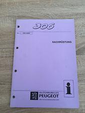 Werkstatthandbuch Peugeot 306 - Nachrüstung - Stand 08/1997