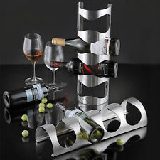 IKEA vurm vino rack in acciaio inox metallo Wall Mounted Bottle Holder multi uso