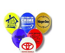 "100 x 11"" Personalised Balloons - Custom Printed Balloon Helium Quality Latex"