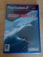 DEEP WATER     PS2 GAME NEW AND SEALED  PAL