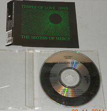 Single CD The Sisters of Mercy - Temple of Love  4.Tracks 1992  Rar MCD S 10