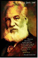 ALEXANDER GRAHAM BELL ART PHOTO PRINT POSTER GIFT QUOTE