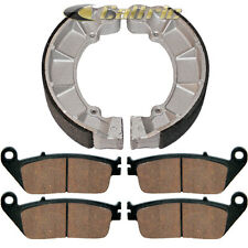 FRONT BRAKE PADS & REAR BRAKE SHOES Fits Honda PC800 PACIFIC COAST 89-90 1994-98