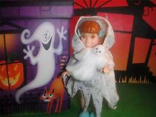 Dollhouse Halloween Barbie Kelly Doll Haunted Ghost Costume & Ghost Decoration