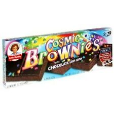 LITTLE DEBBIE COSMIC BROWNIES (CASE of 16 boxes)